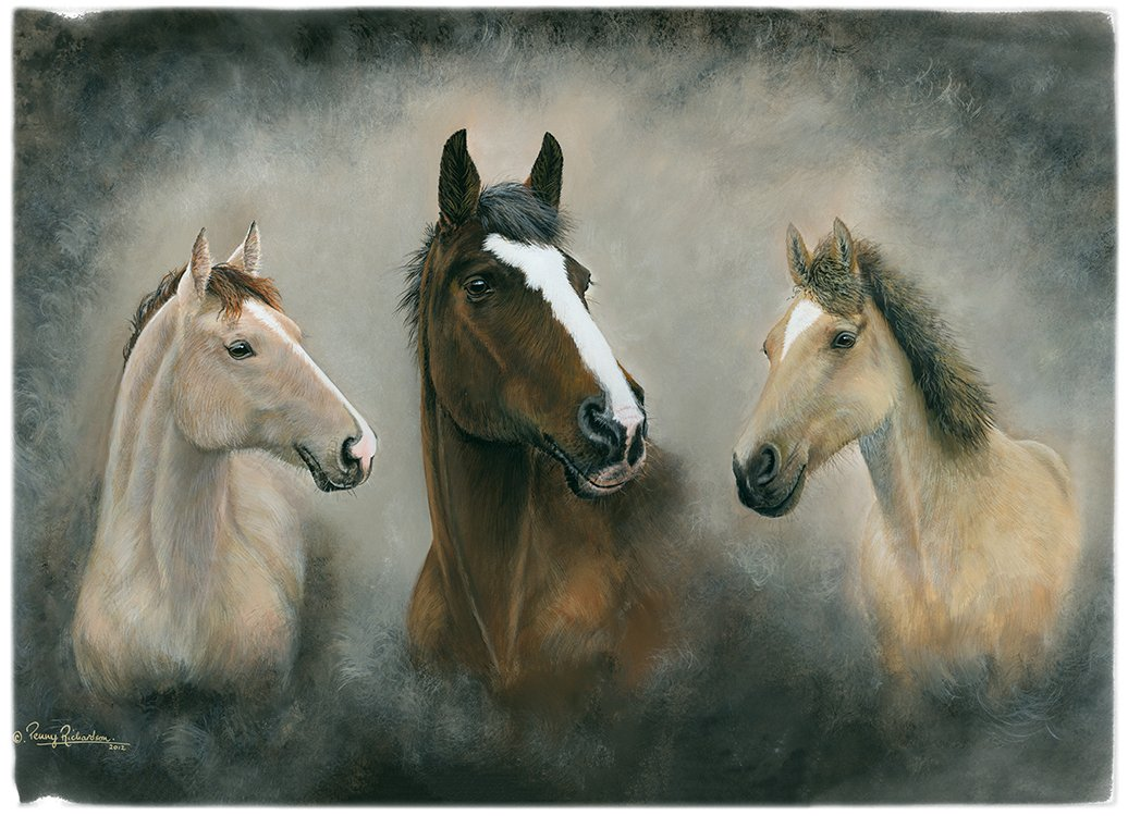 Horse & Pony Portrait Painting Leicester